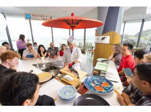 【山形・鶴岡】見て味わう♪ふぐ料理・職人の鮮やかな手さばきと盛り付けで、ふぐを味わう@加茂水族館