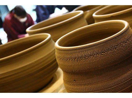 [Tokyo / Omotesando] Super gorgeous! Ceramic art experience course to make gold vessels: Rokuro TNCA ☆ Minami Aoyama Studioの紹介画像