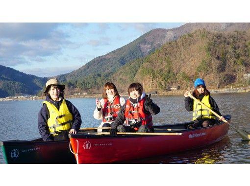 【山梨県・河口湖】夕暮れカヌー体験・90分コース・コロナ対策実施中!カヌーで湖上散歩&思い出作りの旅