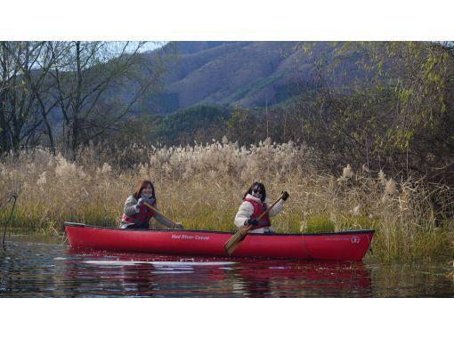 【山梨県・河口湖】夕暮れカヌー体験・90分コース・コロナでも安心・3密を避けて外遊び!カヌーで湖上散歩&思い出作りの旅の紹介画像