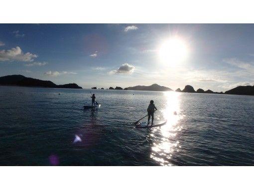 【沖縄・慶良間諸島・座間味島】思いっきりSUPを楽しみたい方に!漕ぎこぎツアーの紹介画像