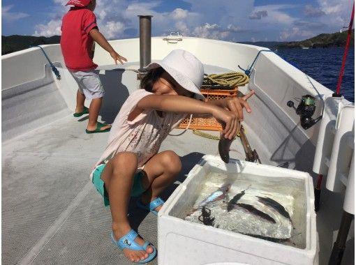 [沖縄-慶良間諸島·座間味島]沒有騎!好的! !熱帶釣魚3個小時的課程の紹介画像