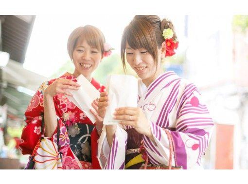 【長野県・塩尻】カップルにおすすめ!18時半返却でたっぷり着物姿で散策して特別な二人の思い出を♪の紹介画像