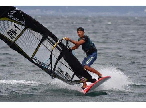 【静岡・清水】風を受けて進む魅力を体感!!ウィンドサーフィン1日レッスンプラン!7才から参加OK!