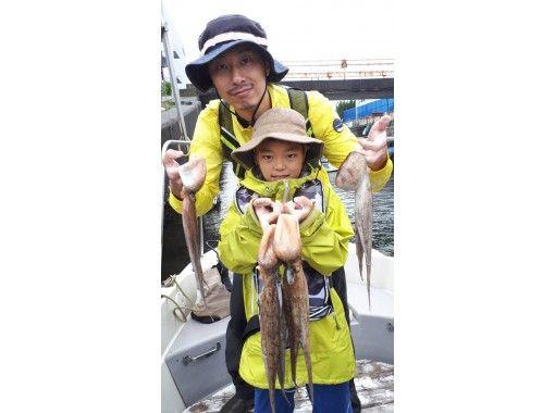 [東京/羽田]章魚飛行馬車初學者,女性,兒童都可以使用♪可以將120分鐘抓到的章魚引入商店♪の紹介画像