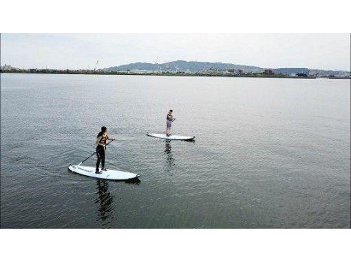 【静岡・清水】気軽に海上散歩!!SUP半日レッスンプラン~7才から参加OK!