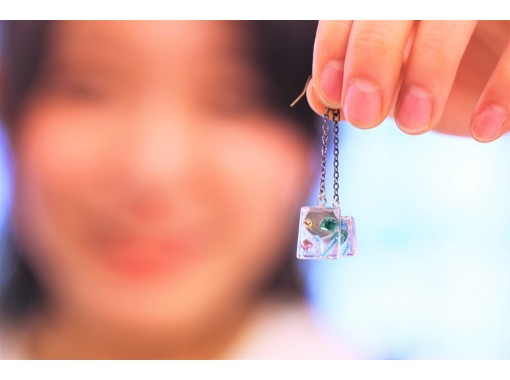 [Osaka Minamihorie] Glitter accessories made from fusing glass ♪ Trigger glass craft experience ☆の紹介画像