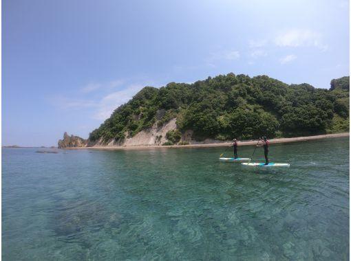 【北海道・余市 積丹周辺】北海道の大自然感じるSUP 秘密の洞窟やプライベートビーチに上陸の紹介画像