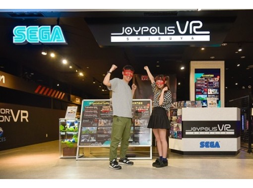【東京・渋谷】 ★ターミネーターVR+お好きなVR2機種体験セット券★リアルでド迫力な仮想世界へ!