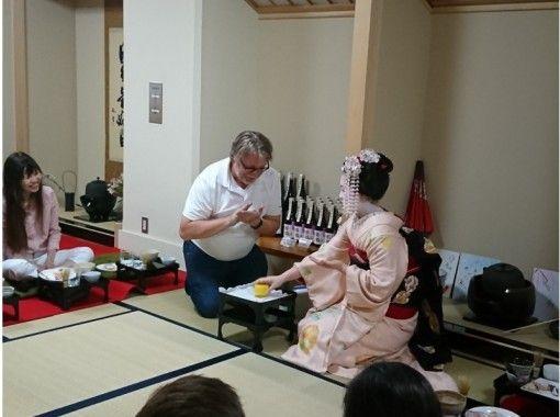 【京都で大人気の常設プログラム】舞妓さんと一緒舞妓さんと一緒にお座敷ディナーコース