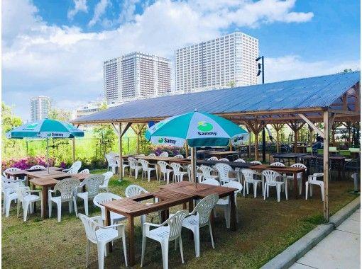 【東京・豊洲】手ぶらで海鮮を堪能♪「豊洲市場」海鮮BBQコース!(3時間飲み放題)