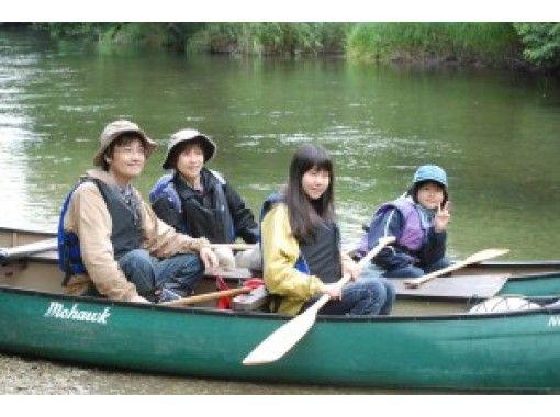 【北海道・屈斜路】初心者・お子様も楽しめる!釧路川源流カヌーロングツアー♪ ティータイム&おやつ付
