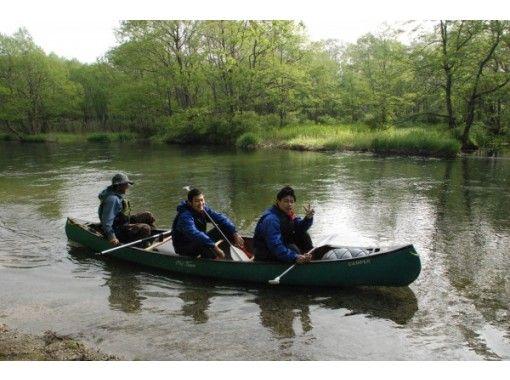 [北海道屈斜路]初學者和孩子們也可以享受! s路川源頭皮划艇長游♪下午茶和小吃の紹介画像