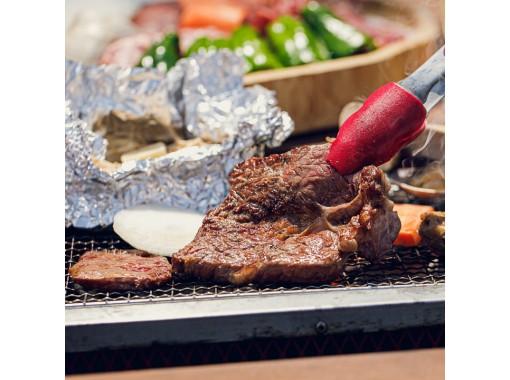 【3H飲み放題付】肉×魚介を存分に楽しむ「贅沢BBQコース」〈15種類以上〉友人・家族