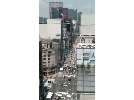 【東京】あんなところで?こんなところで?!! ~GINZAで天空参拝~ 空を見ながら、ご利益倍増!?
