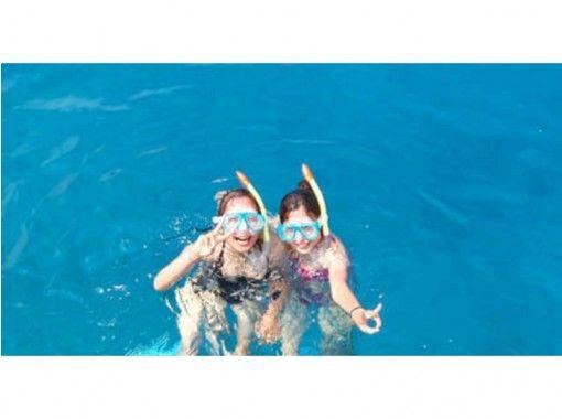 【沖縄・瀬底島】 海を満喫!パラバナシュコース【パラセーリング&バナナボート&シュノーケリング】の紹介画像
