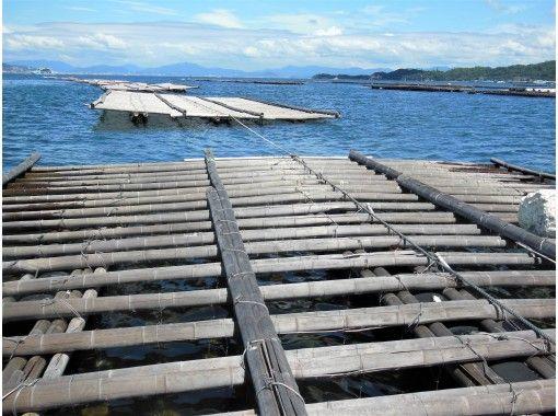 【広島・宮島】安芸の国めぐりCOOL広島かき筏めぐりと海鮮バーベキュー体験~宮島にしかない漁船ツアー