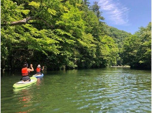 【群馬・水上】雄大な山々に囲まれた波のない穏やかな湖で半日SUPツアー~大自然の素晴らしさを感じよう