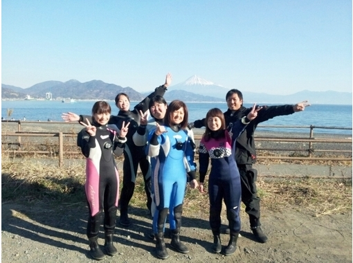 [Ibaraki ・ From Mito】 The world of the ocean is thrilled! Experience in the sea of Izu Diving(Discover Scuba Diving)の紹介画像