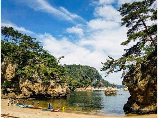 【宮城・松島】宮城松島手ぶらでミドリの洞窟サップツアー 写真無料プレゼント!