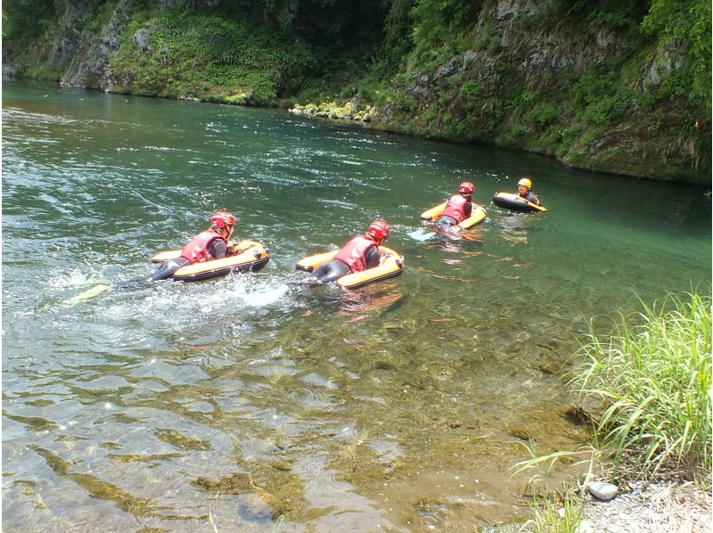 [Tokyo Okutama] this feeling to feel the river in the body! HydroSpeed introduction image of (half-day course)