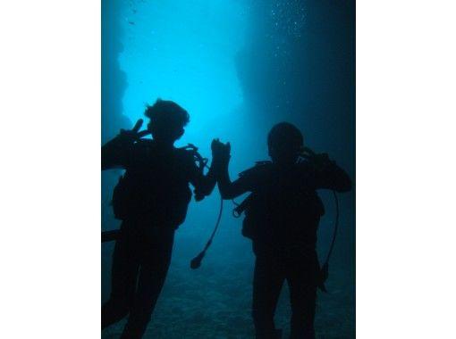 【GOTOトラベル地域共通クーポン取扱店】コロナ対策優良店!シーウォーク&青の洞窟体験ダイビング 写真データサービス