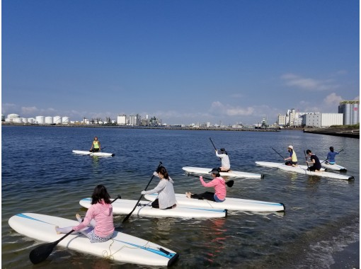 [JR京叶线/千叶港] SUP Cruise + SUP Yoga 3小时初学者非常满意 开设Intra课程第10年の紹介画像