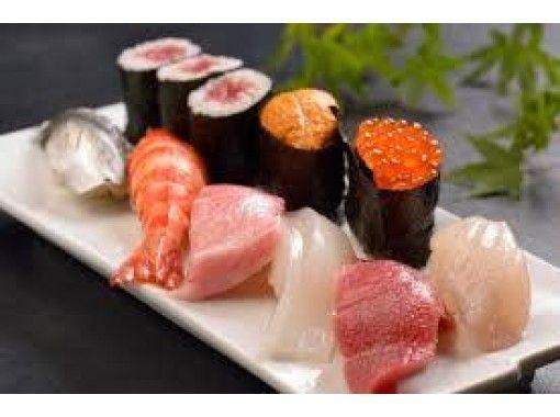 【大阪・大阪市】お腹も心も幸せに♪ 感動の本格寿司職人体験!握り8貫+ミニ国産豚しゃぶ+味噌汁+証書
