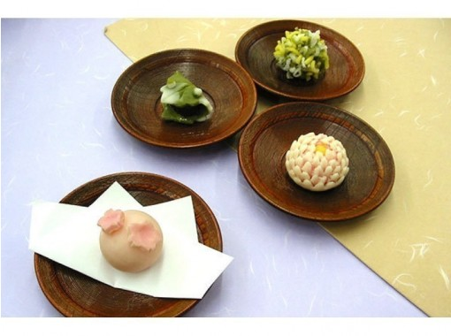 [Kyoto Prefecture, Kyoto City] Cute and elegant taste, experience of hand-made confectionery in Kyoto! Finished in a small box for souvenirs!の紹介画像