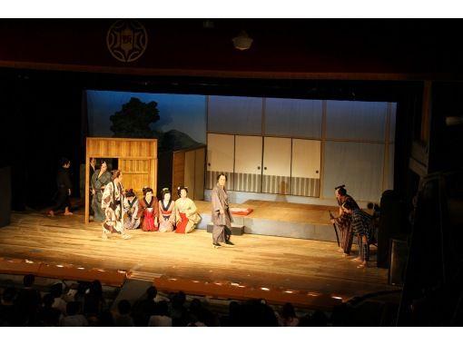 "[Akita / Kosaka Town] Meiji playhouse ""Korakukan"" Theatrical company Yumeiro's humanity comedy ""Bikuni"" With facility information by Kuroko!の紹介画像"