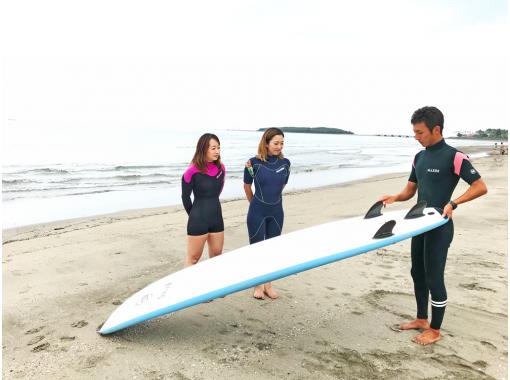 【宮崎青島】海まで徒歩1分!手ぶらでサーフィン体験コース!の紹介画像