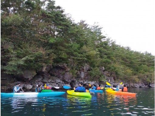【山梨・富士五湖・西湖】ワンちゃんも乗れる!気軽に湖上が満喫できる魅力満載の西湖カヤック体験120分プランの紹介画像