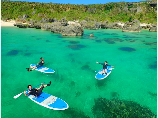[沖縄/宮古島](2)地區通用優惠券可以!體驗世界一流的海洋! SUP /獨木舟之旅,從一流的海灘中進行選擇[免費照片數據]の紹介画像
