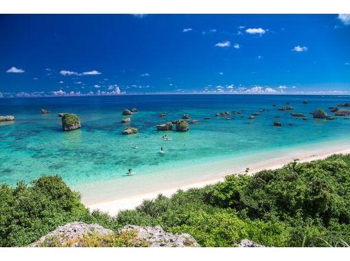 【宮古島/半日】エメラルドに輝く宮古ブルーの海を一望!選べる絶景ビーチSUPorカヌー【写真データ無料】の紹介画像
