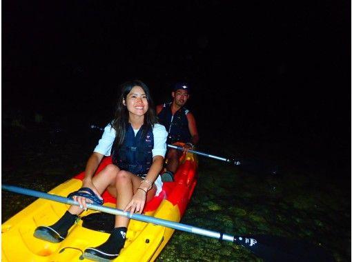 [宫古岛/夜] ④ 在岛上享受夜晚的新感觉冒险!星空与夜晚 SUor 独木舟 [照片数据免费]の紹介画像