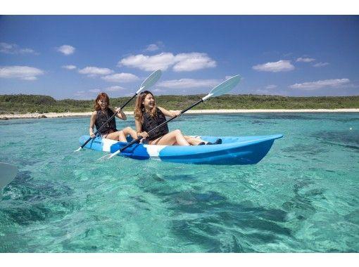 [宫古岛/第1名]⑦人气No.1!高级旅游(浮潜、南瓜洞和 SU 皮划艇)[照片数据免费]の紹介画像