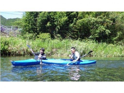 【徳島・牟岐】小さなお子様も参加OK!爽快カヌー体験の紹介画像