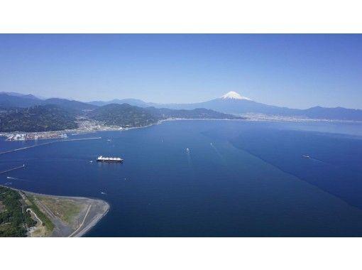 【静岡・清水】世界文化遺産、三保(みほ)の松原・富士山と駿河湾・日本平を一望ゆったり贅沢なフライトの紹介画像