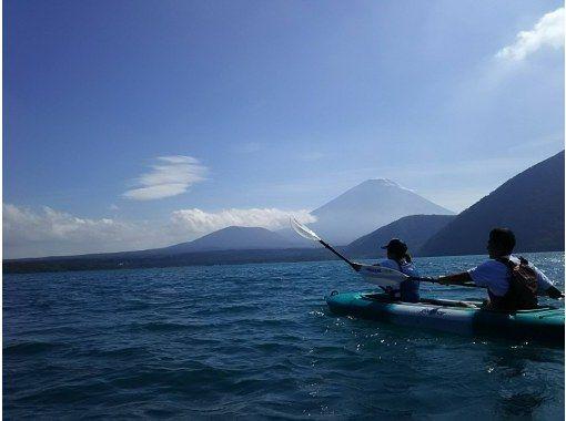 【山梨・富士五湖・本栖湖】ワンちゃんOK!富士山を眺めながら絶景クルージング120分プランの紹介画像