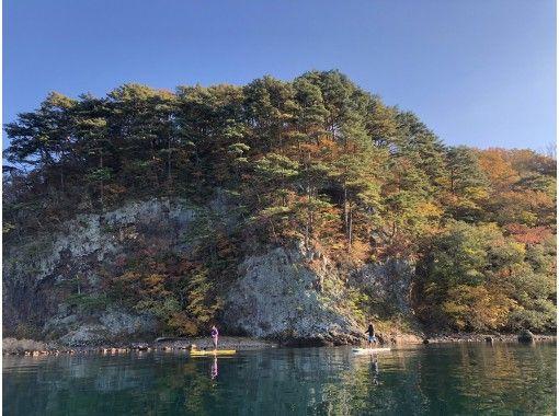 【福島・猪苗代】最高のロケーション♪ 猪苗代湖SUPレンタル&ガイドツアー(2時間)の紹介画像