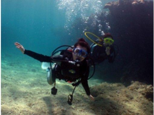ハートロック古宇利島の海【体験ダイビング2名様以上】初めてでも大丈夫!