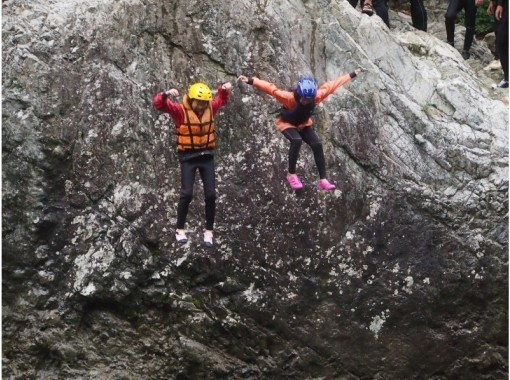 With lunch ☆ [W Challenge ☆ Hanage Canyoning & Water / Rafting] 2nd event per day, very satisfying course!の紹介画像