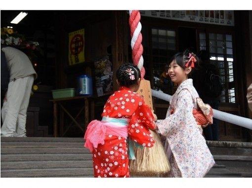 Fuji plan [Tochigi/ Ashikaga] ☆ Summer only ☆ Kimono dressing experience (60 minutes free walk) May-Septemberの紹介画像