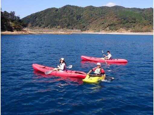 【高知・土佐清水】海域公園・竜串湾でシーカヤックツアーの紹介画像