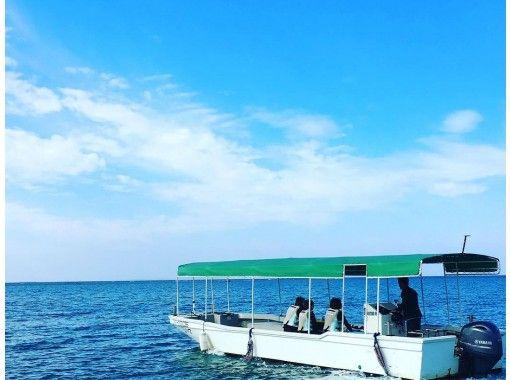 【沖縄・北谷】グラス底ボート