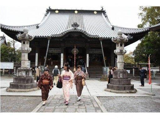 Camellia (Camellia) Plan ★ Nagoya band ★ [Tochigi Ashikaga] Kimono Experience (1 day)の紹介画像