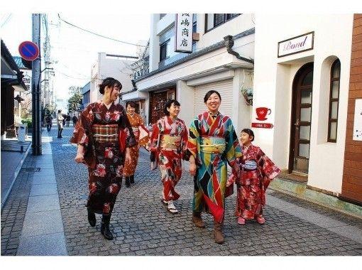 Dandelion plan ★ Infant limited kimono ★ [Tochigi and Ashikaga] Kimono dressing experience (1 day) Let's touch the kimono culture ♪の紹介画像