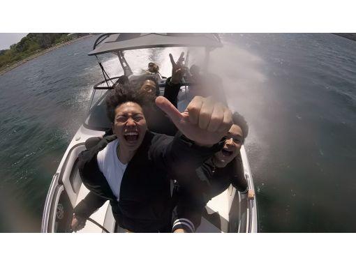 [Lake Hamana/ Cruising] Lake Yu Attractions < Adventure > Water driving active course 90minの紹介画像