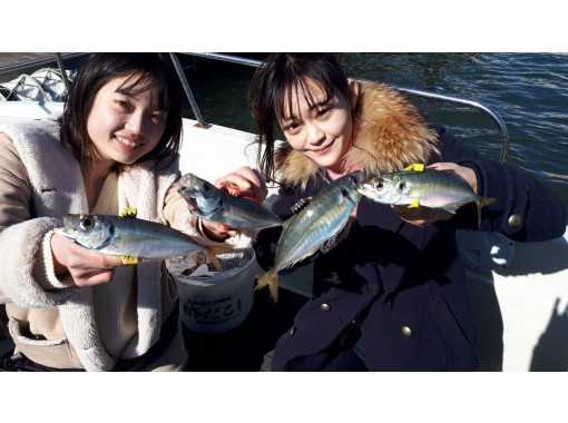 """[東京/羽田]便宜! """"阿治""""包船★最多可容納7人♪180分鐘我們可以介紹一些商店,在那裡您可以吃到捕獲的魚!の紹介画像"""