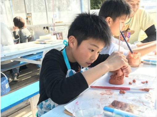 【朝得割引】GOTO地域共通クーポンOK【美ら海水族館まで1分】当日持ち帰れる!粘土からシーサー作り体験【スタッフと一緒に制作だから楽しい】